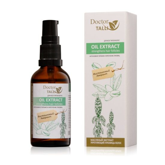 Oil Extract Strengthens Hair Follicles
